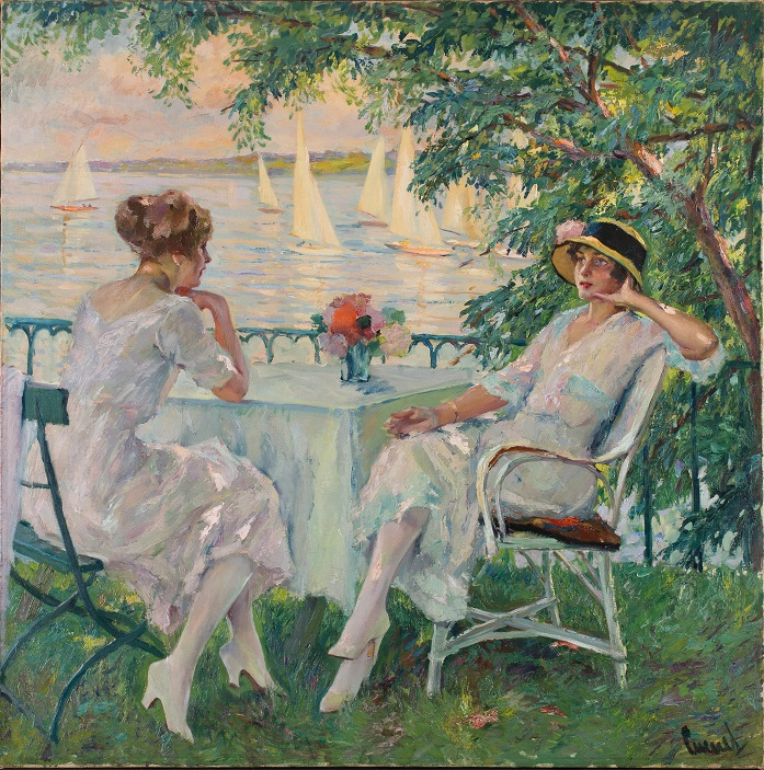 Summer Leisure  (c. 1920s) by Edward Cucuel