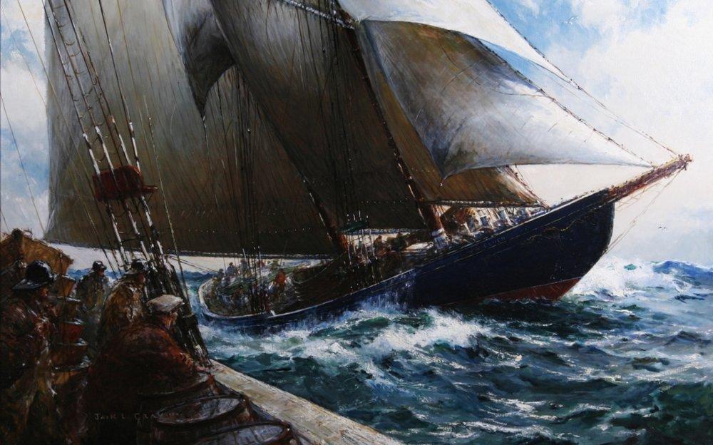 Jack Gray,  Schooner  Bluenose