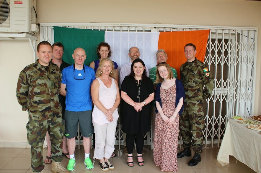 group of Irish responders at Sinead's apartment.JPG
