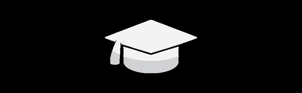 Graduation hat - white.png