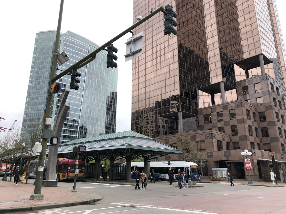 Transportation - Bellevue Transit Center - Downtown Bellevue