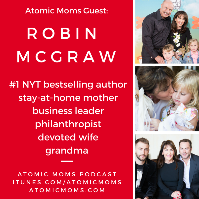 Robin McGRAW on Atomic Moms