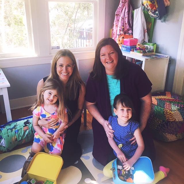 Atomic Moms Podcast | Guest | Heather Brooker | Host Ellie Knaus | Motherhood in Hollywood |