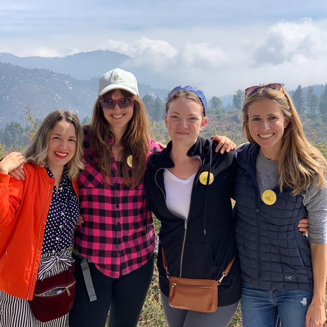 Jessica Coulter, Bridget Moloney-Sinclair, Becca McHugh, and Ellie Knaus