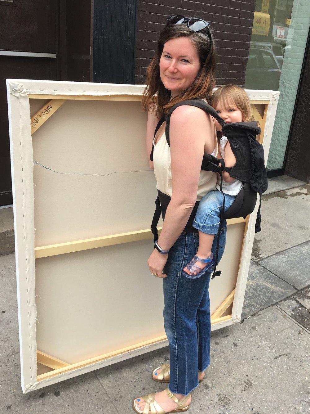 Artist Madeline Donahue on Atomic Moms