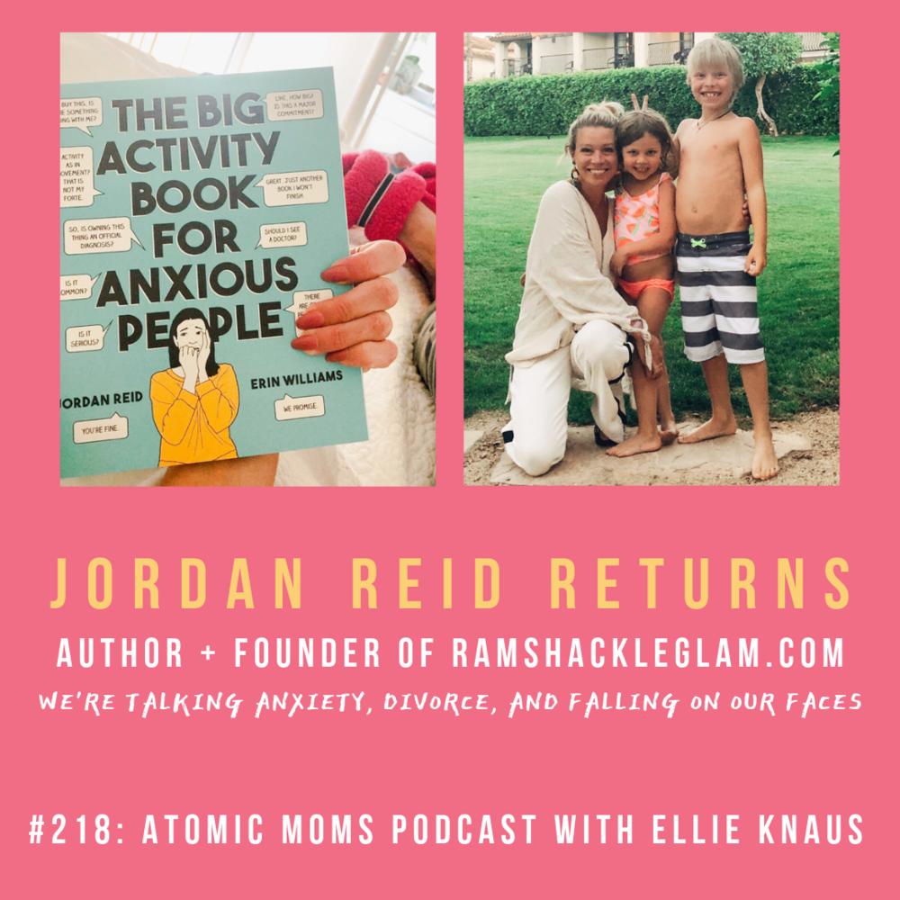 Jordan Reid of RamshackleGlam.com Returns to Atomic Moms Podcast