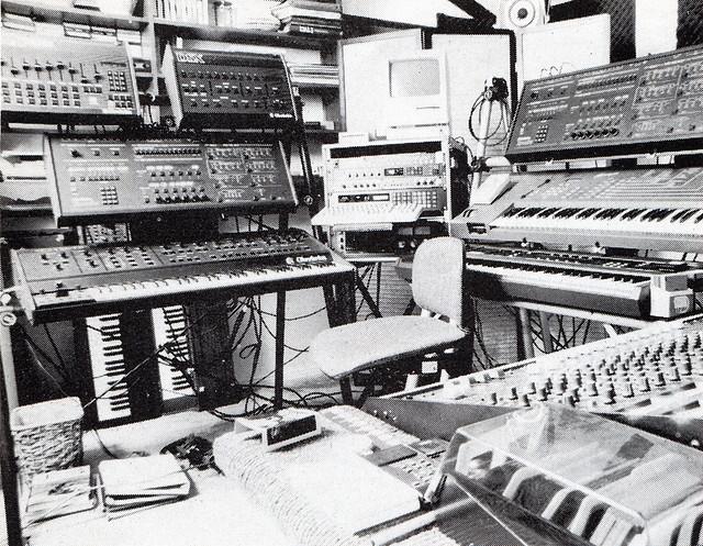 Steve Roach Setup