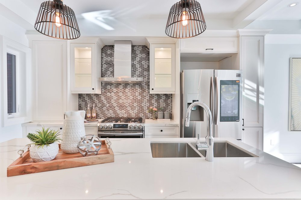 Beautiful kitchen that probably has a high salability and adds to the appraised value of a home.