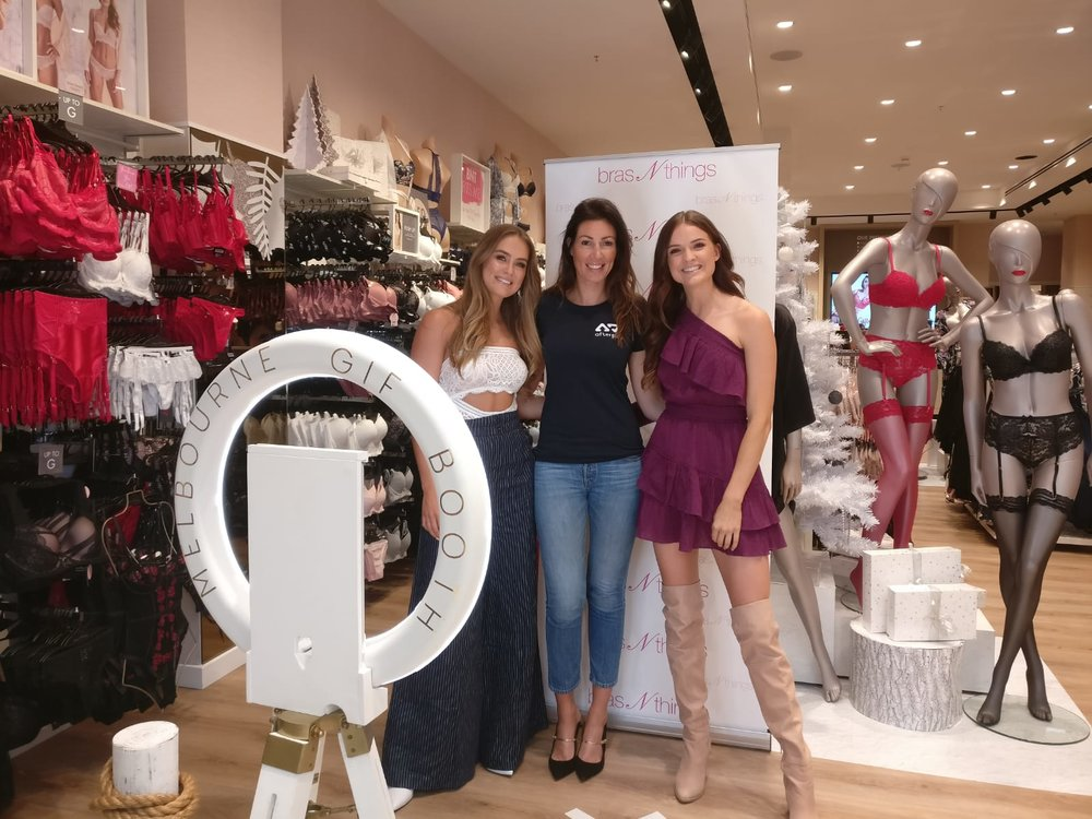 Bras N Things Influencer Event     Venue: Chadstone Shopping Centre, Melbourne    MGB Highlights: Hanging out with Steph Claire Smith + Laura Henshaw