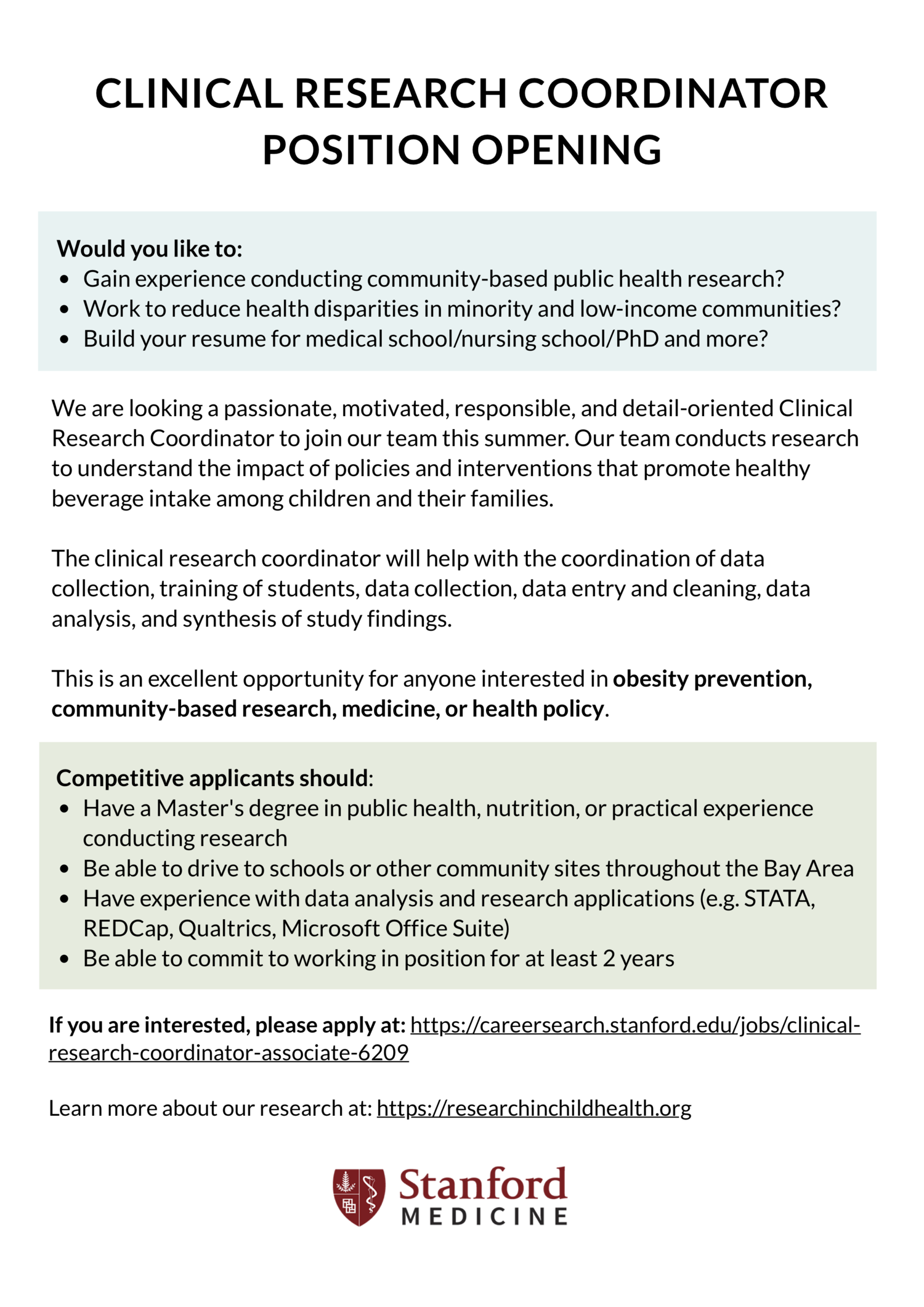 Updates — Partnerships for Research in Child Health