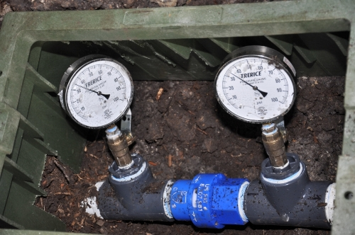 Smart Water Valve Houston Irrigation Meter Installation