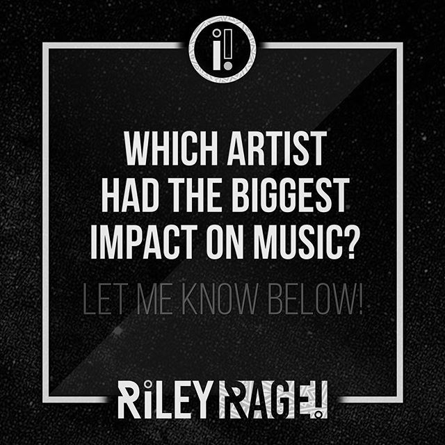 ❔❕❔❕❔❕❔❕ . ▪️▪️WHiCH ARTiST HAD THE BiGGEST iMPACT ON MUSiC?▪️▪️ . . ▫️LMK BELOW!▫️ . . . ✨✨ NOW STREAMiNG ON ALL PLATFORMS ✨✨ . . ⚡️⚡️JOiN @THE.RAGE.CREW GET FREE DOWNLOADS!⚡️⚡️ . . ⚡️ LiNK iN BiO ⚡️ . ▪️▫️▪️ @RAGEONTHETRACK ▪️▫️▪️ . . ☑️#RageOnTheTrack #NewEarthTribal #QuestionOfTheDay #NewMusicAlert #TrapMusic #supportindieartists #Questions #NewMusic #NewEarth #5D #LightWorker #LightWarrior #EarthWarrior #NewArtistAlert #TribalMusic #motivationmonday #ArtistsOfInstagram #mondaymotivation #truthermovement #truthmovement #influentialartists #artists #influentialpeople
