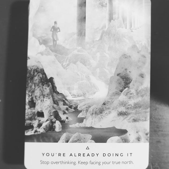 ▪️▫️▪️▫️ ⚡️ ⚡️ ⚡️ ▪️▫️▪️▫️ YOU'RE ALREADY DOiNG iT - STOP OVERTHiNKiNG, KEEP FACiNG YOUR TRUE NORTH ▫️▪️▫️▪️ . . ▫️⚡️▪️ . . . . ▪️FREE MUSiC DOWNLOADS▪️ . ✨LiNK iN BiO✨ . ⚡️ @RAGEONTHETRACK ⚡️ . . ☑️#rageonthetrack #musicproducer #newartists #newartistalert #upcomingtalent #upcomingartist #upcomingproducer #beatsforlease #bookoftheday #bookofthemonth #bookoftheweek #tribalbeats #tribalmusic #tribalmovement #earthwarrior #earthwarriors #lightwarriors #lightwarrior #unsignedhype #unsignedrapper #unsignedtalent #unsignedartist #tribaltech #tribaltrap #5d #newearth #earthwarriors #cardoftheday #oracle #oraclecards