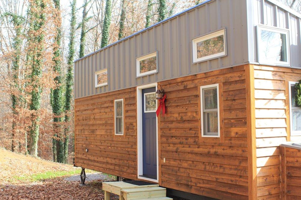Modern Industrial Farm Tiny House