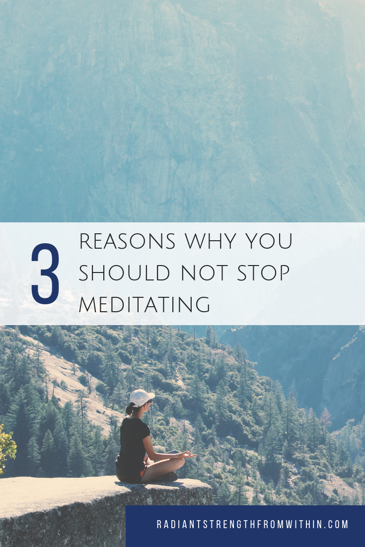 3 reasons why you should not stop mediating
