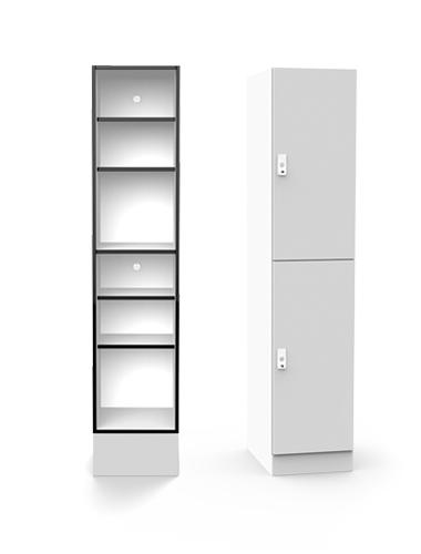 Lockin H2 shelving locker
