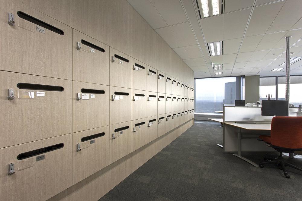 Office lockers by Lockin