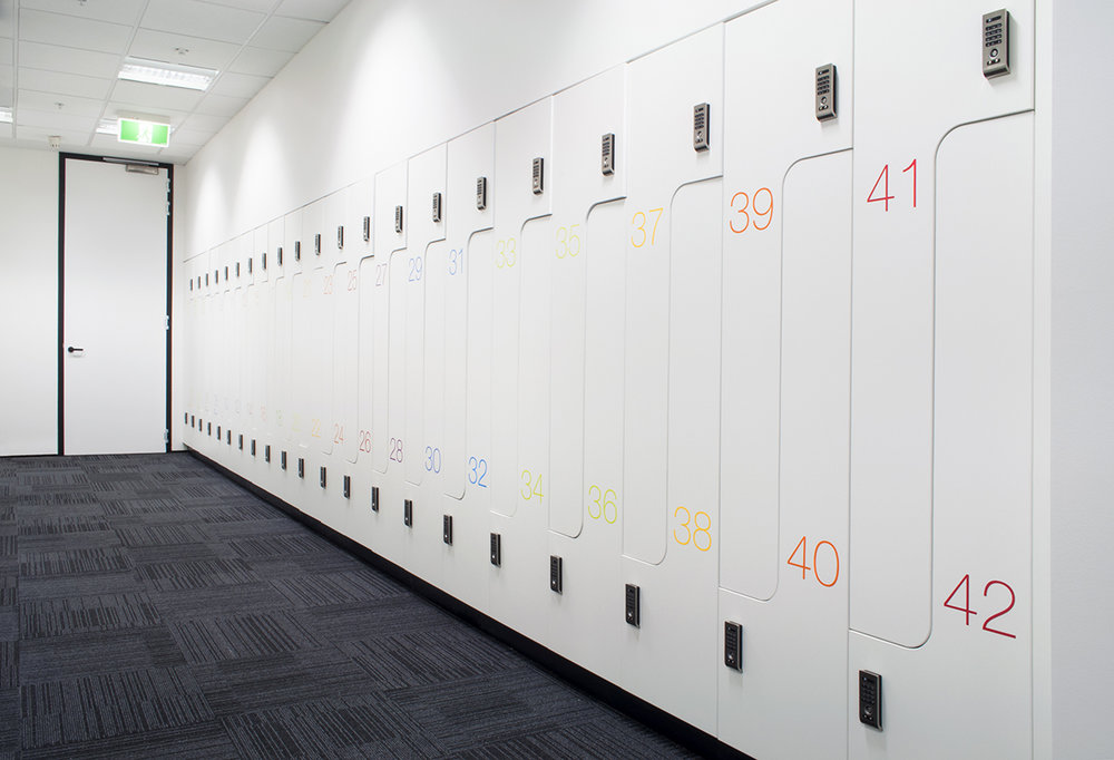 ACMA PL2 lockers by Lockin
