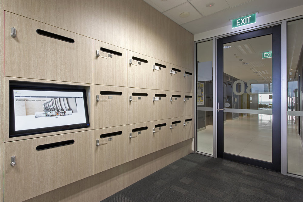 Ernst & Young lockers