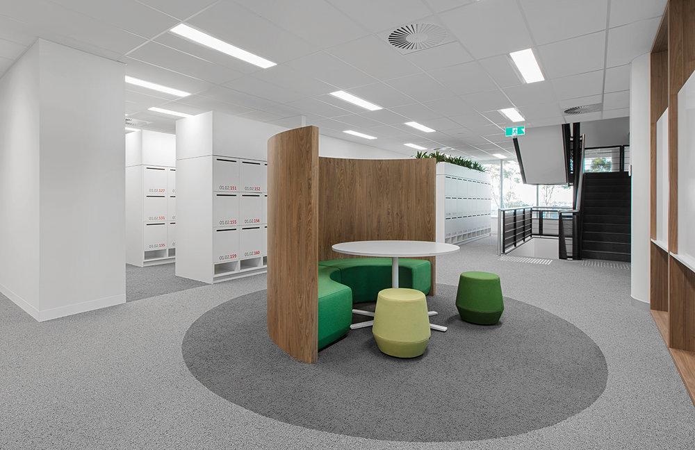 Activity based working lockers by Lockin