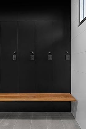 change room lockers