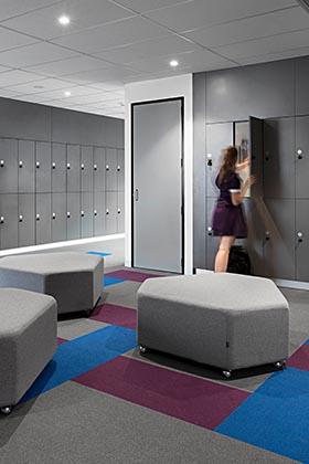 laminate school lockers