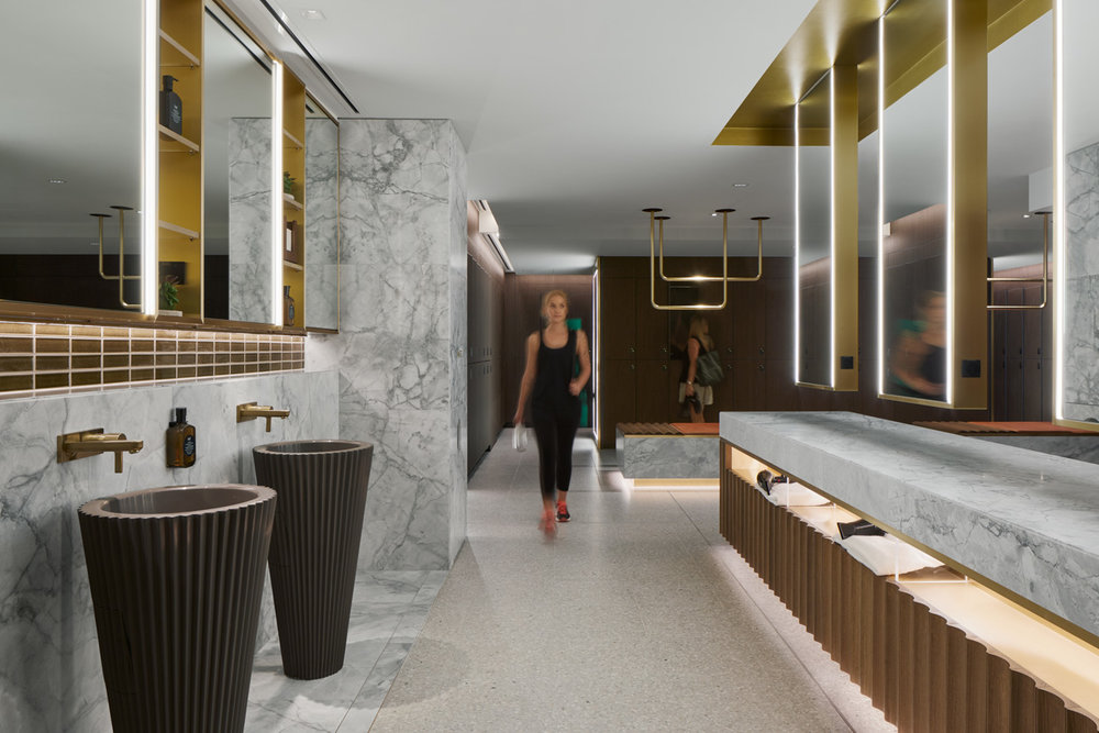 101 collins street by ISM interiors and Lockin Lockers