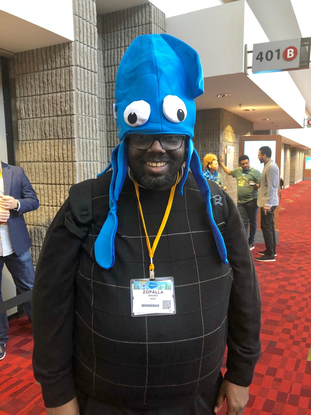 Zo Brown Squid Hat