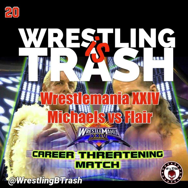 Wrestlemania XXIV Flair Vs Michaels — Random Ramblings w/Rob