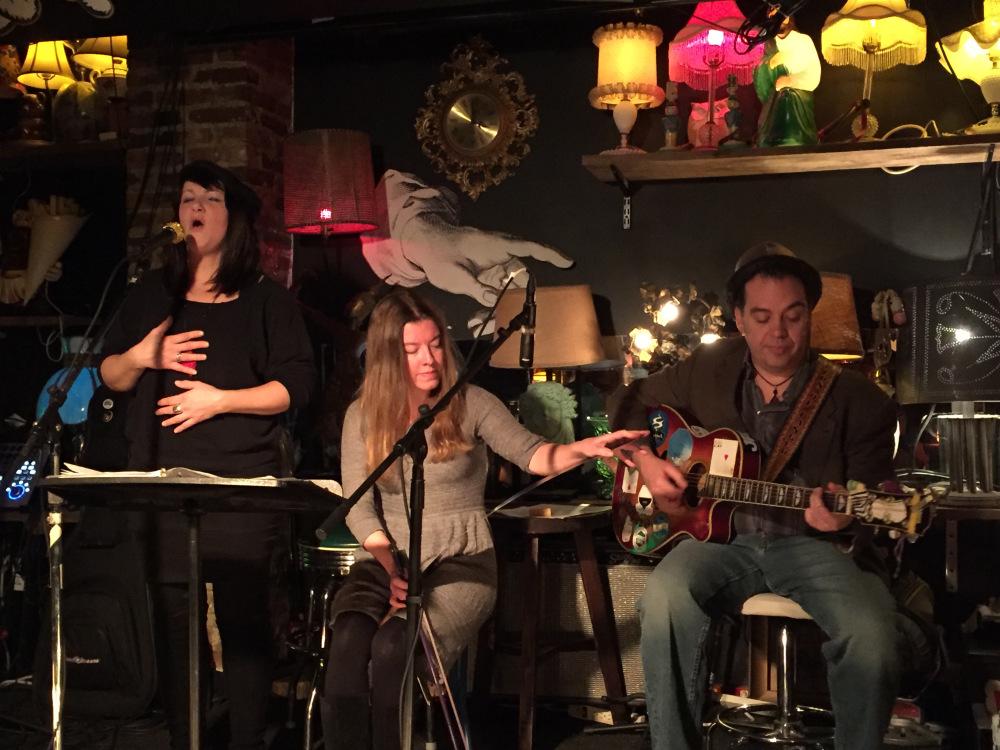 Samara Lark Brown, Joe Adler and Johnnie Day Durand