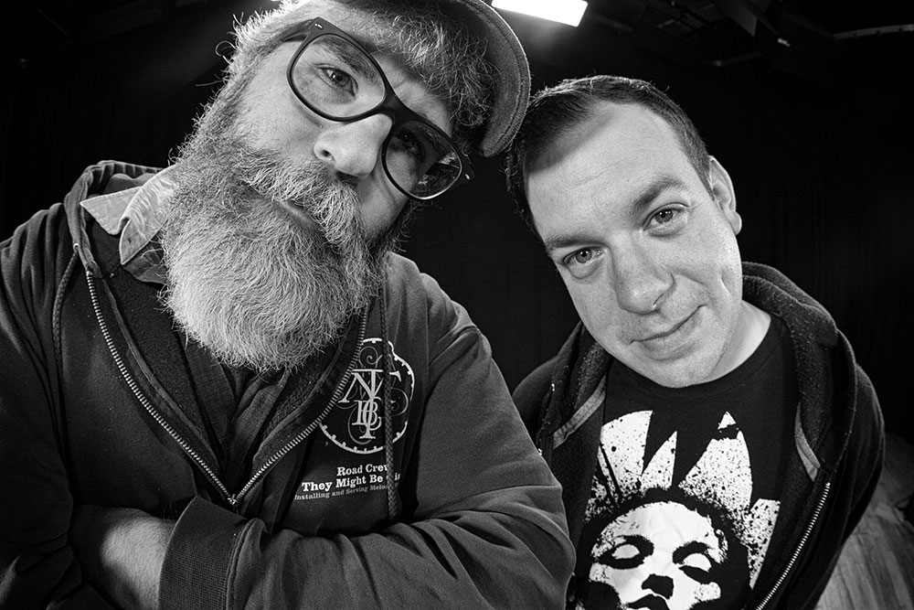 Bill Simmon and Joe Atherton