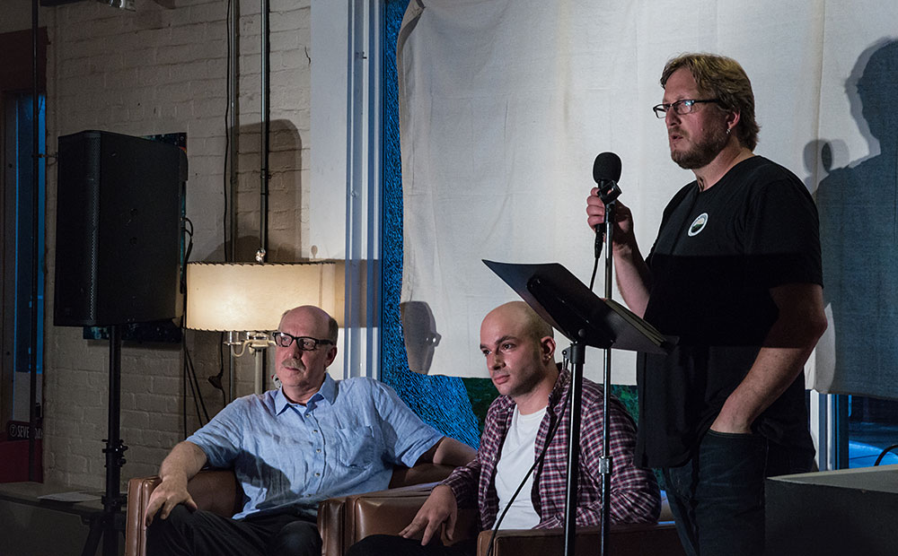 Shay Totten hosts Professor Thomas D. Visser and author Peter Moskowitz.