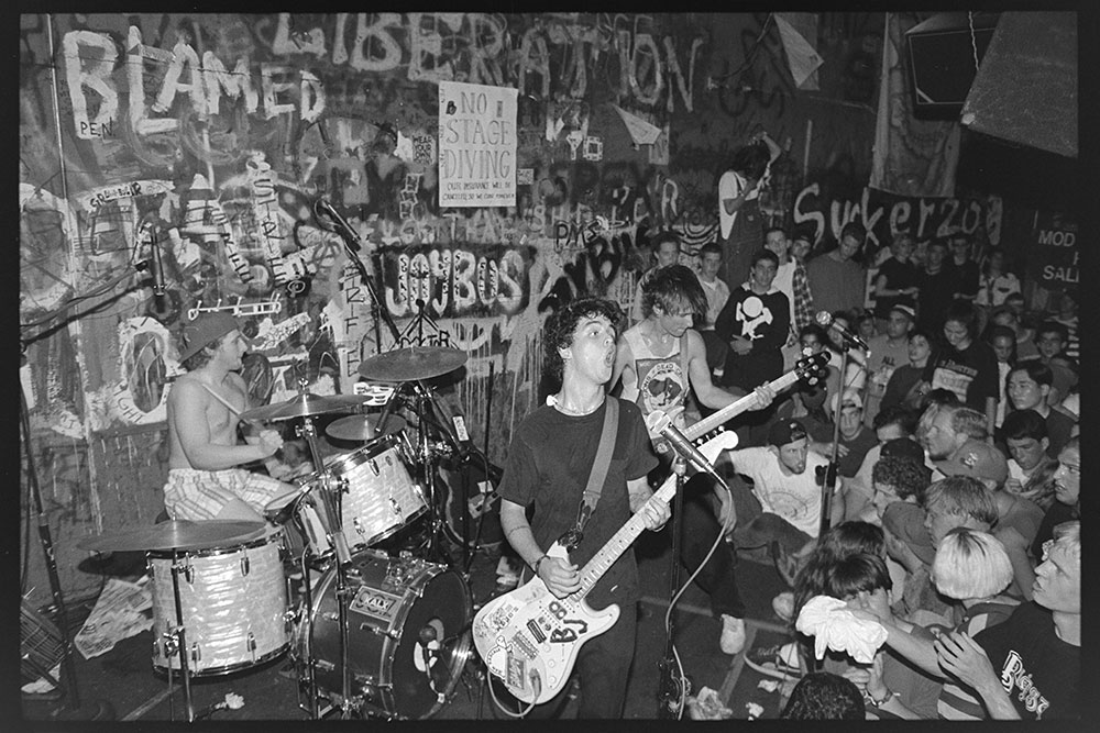 Green Day at Gilman St., 1992