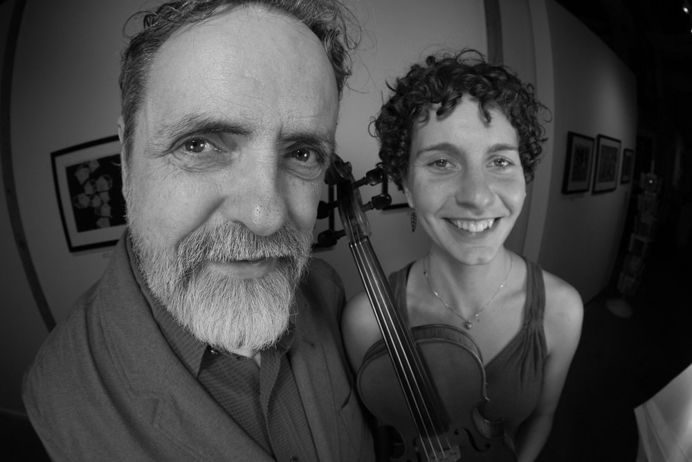 Mark Sustic and Yasi Zeichner of Young Tradition Vermont