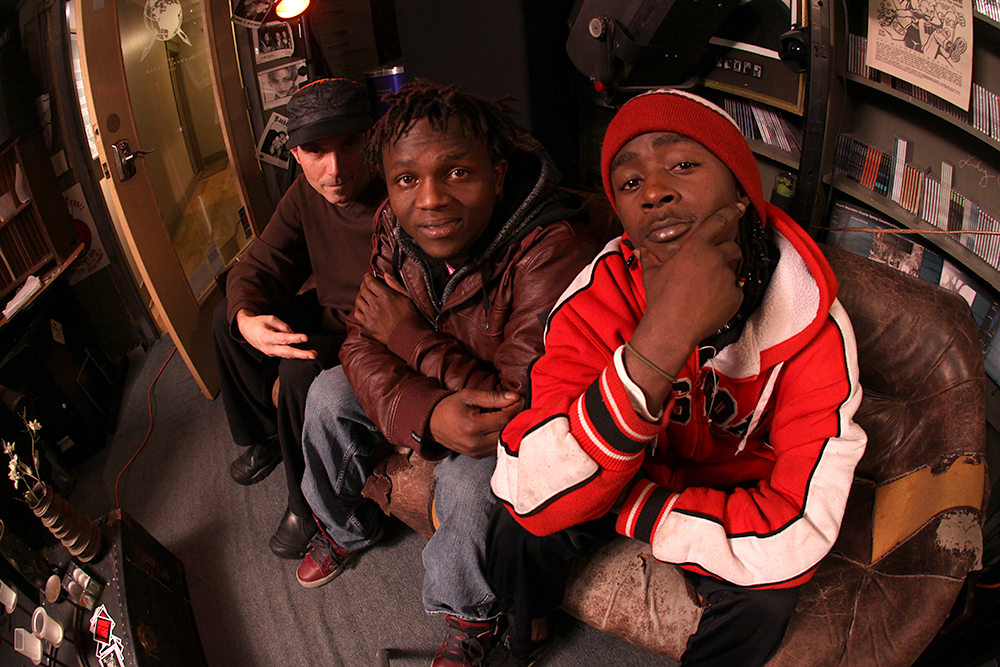 A2VT (Africa to Vermont) appear on 'Rocket Shop,' Big Heavy World's local music radio hour.