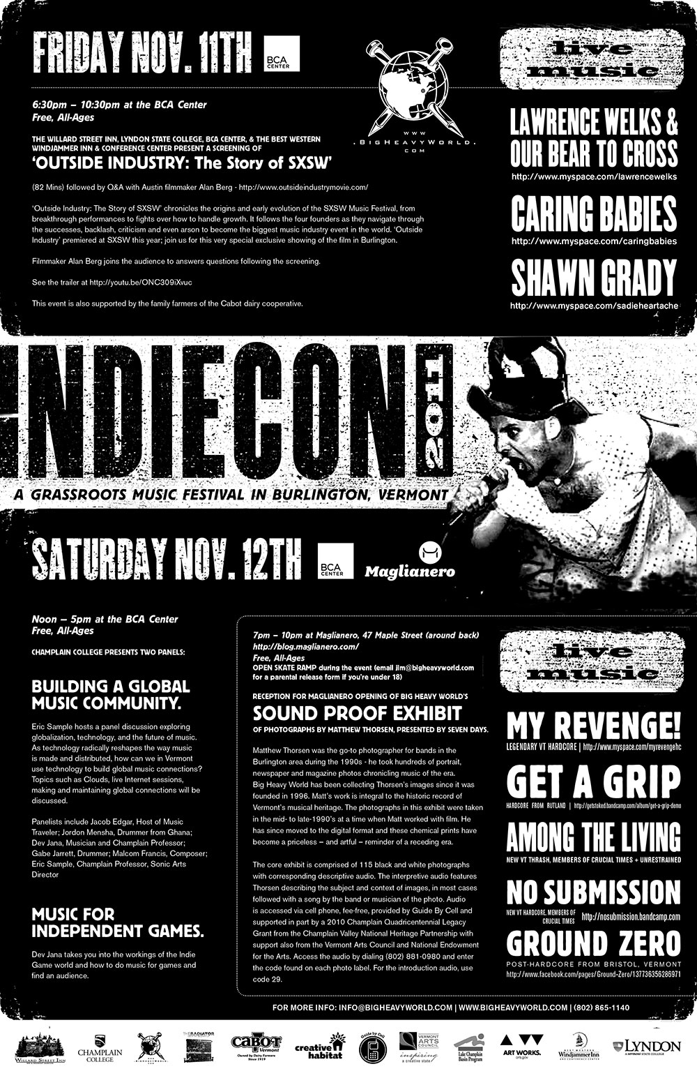 IndieCon Poster
