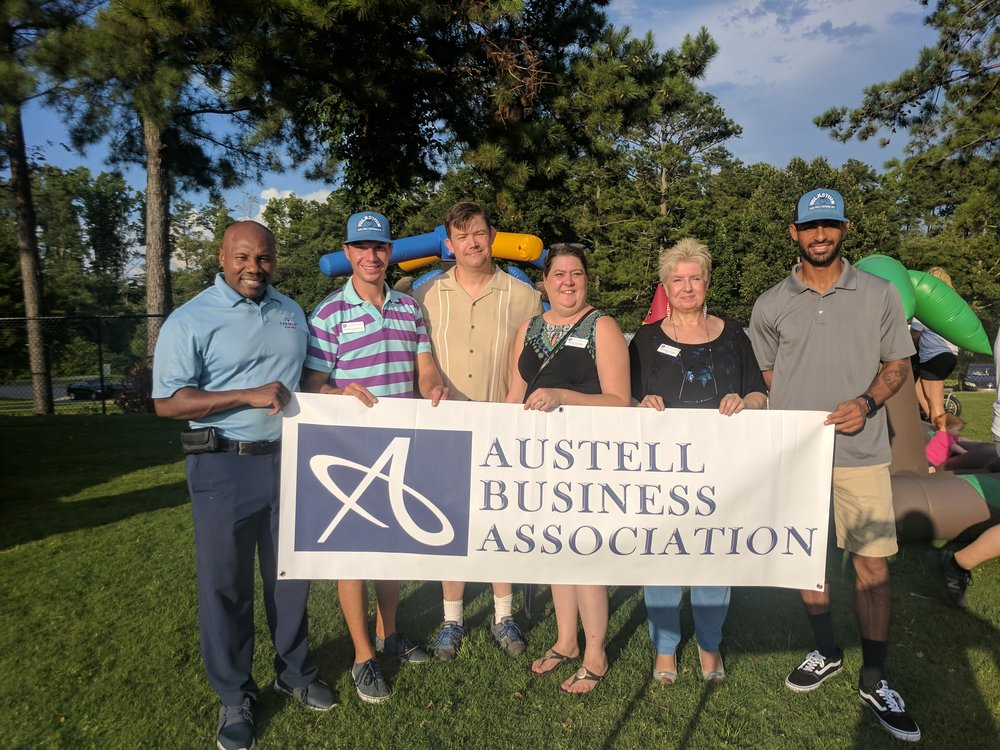ABA members volunteer at Cobb National Night Out - August 2018