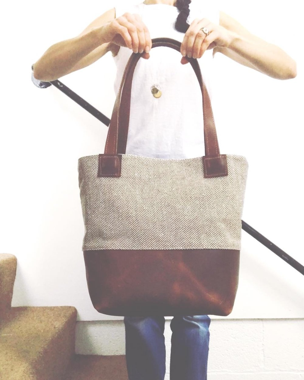 redefining designer fabric for your everyday life - one bag at a time….