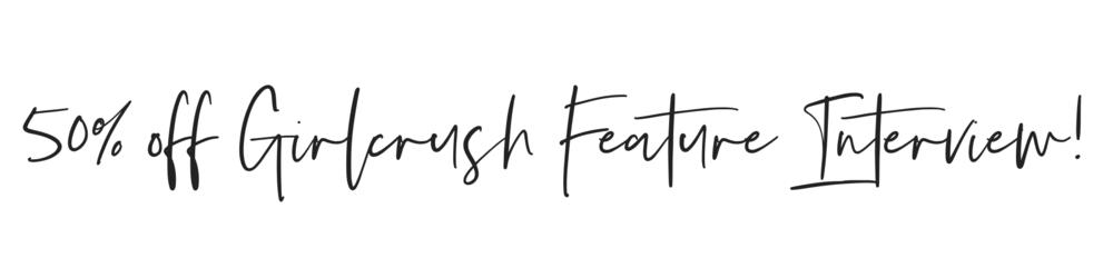 girlcrush feature