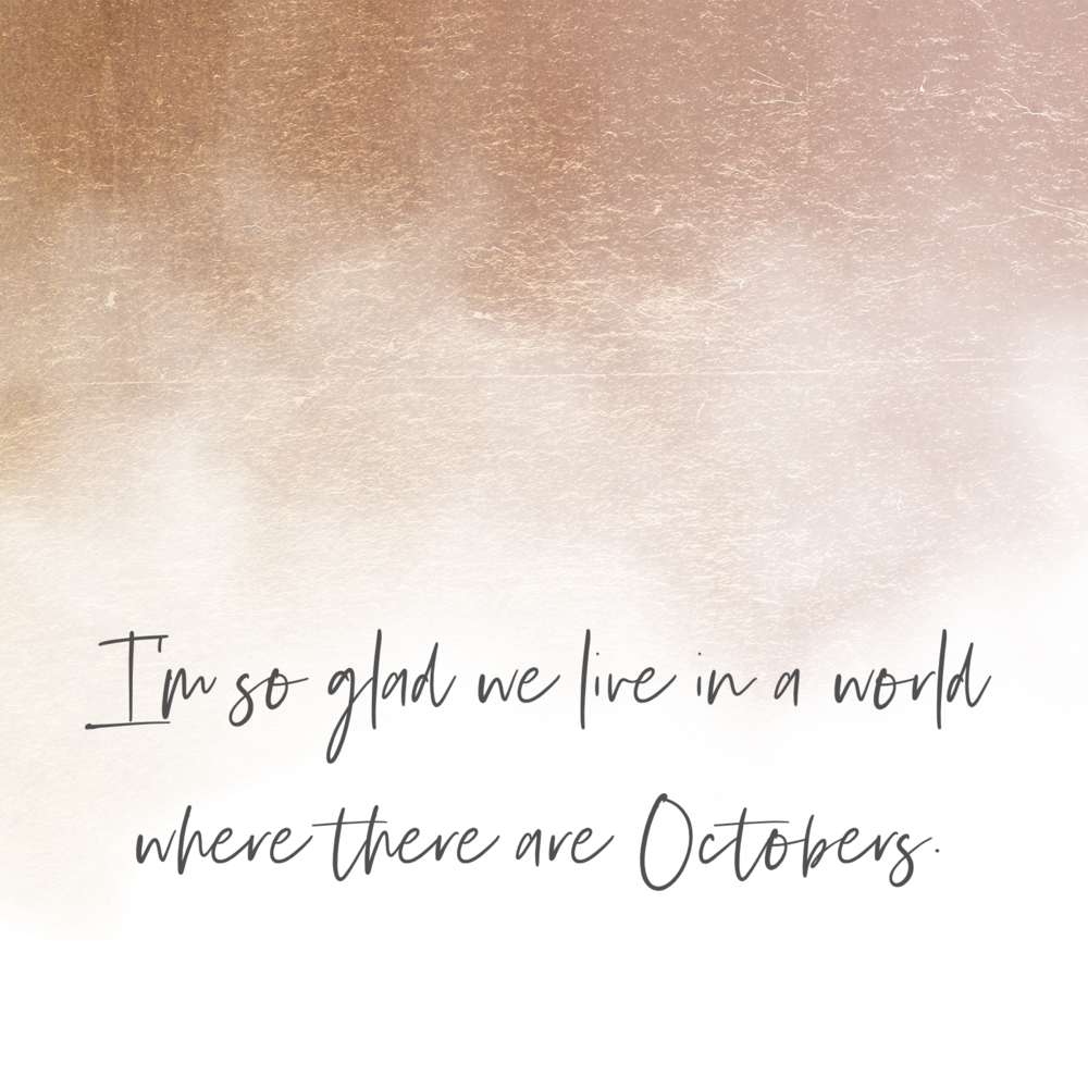 world with octobers