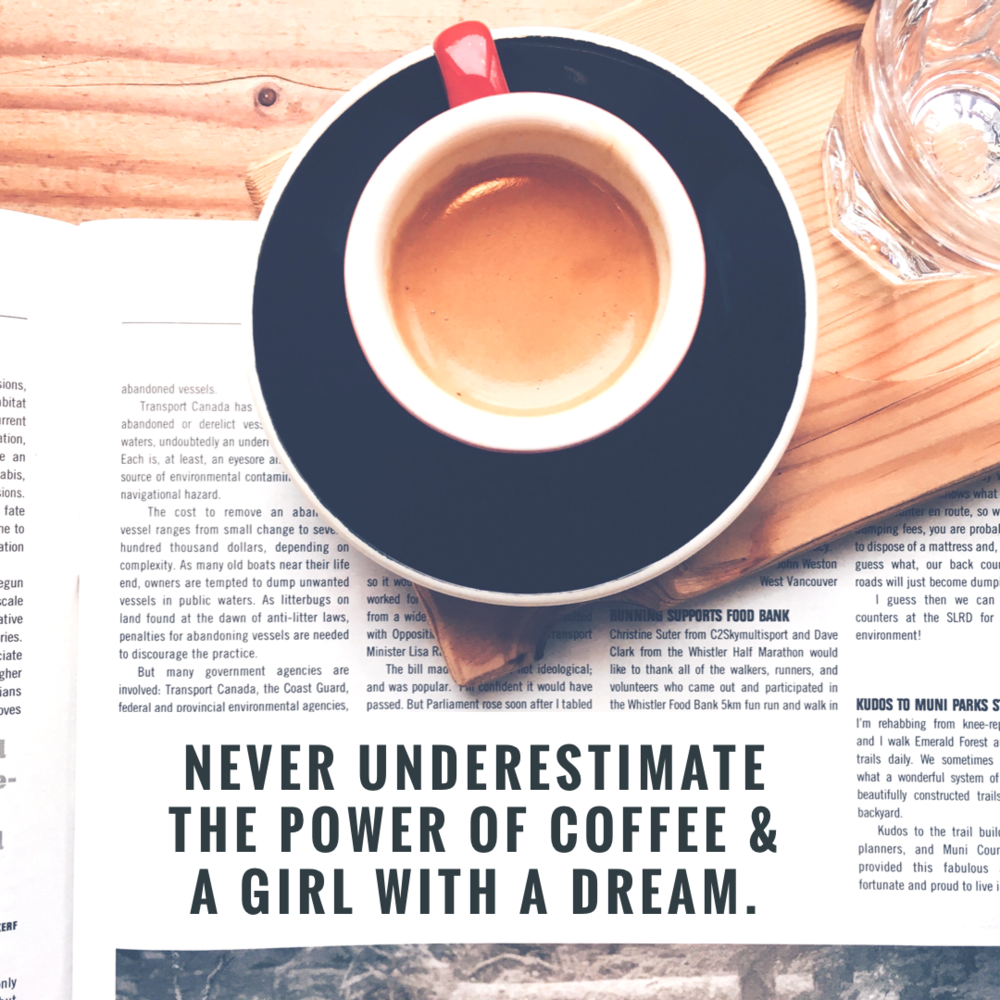 coffee and dreams