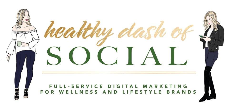 healthy dash of social