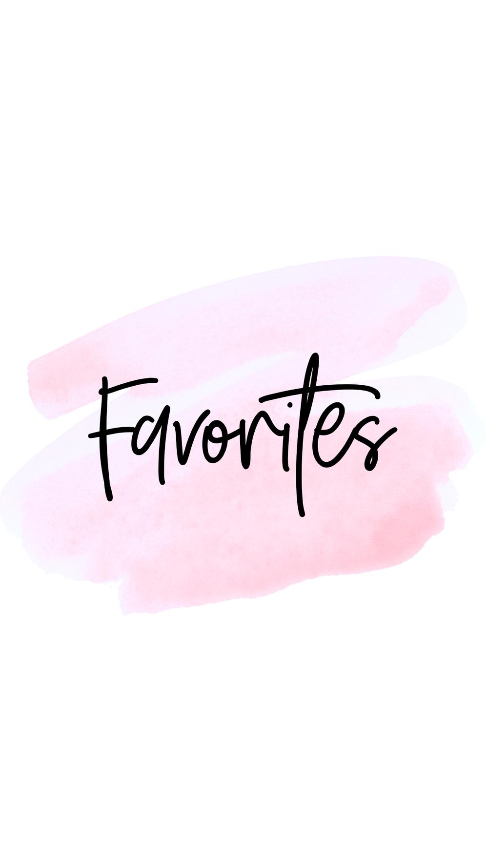 favorites highlight