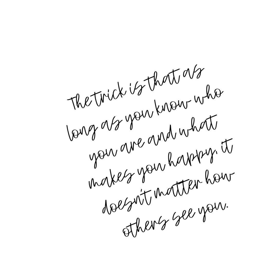 cursive quote