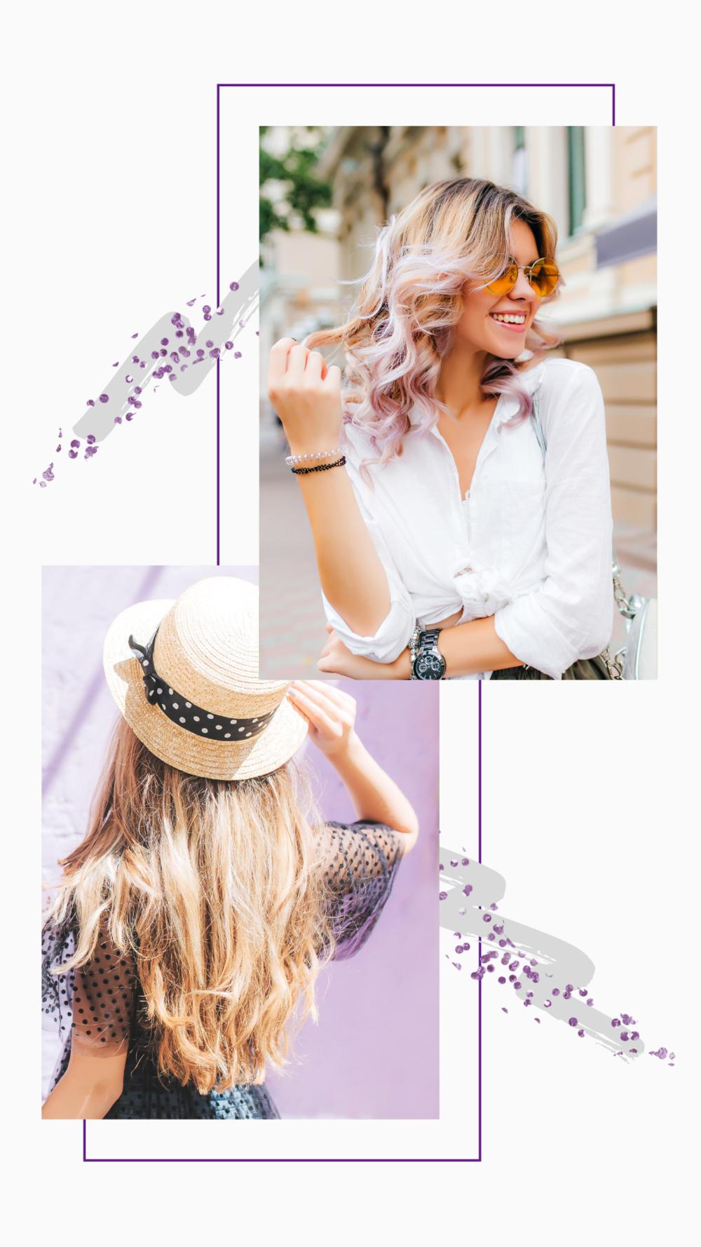 lavender instagram story