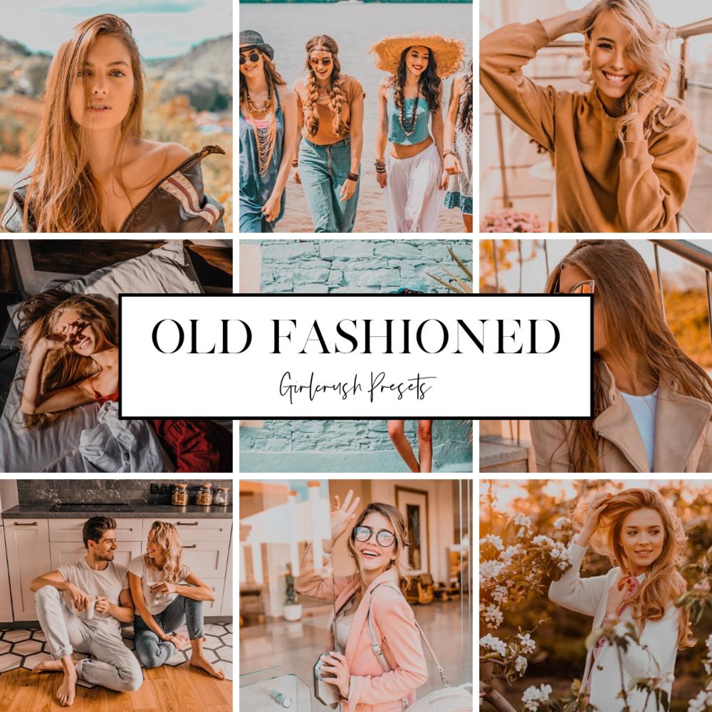 old fashioned girlcrush preset