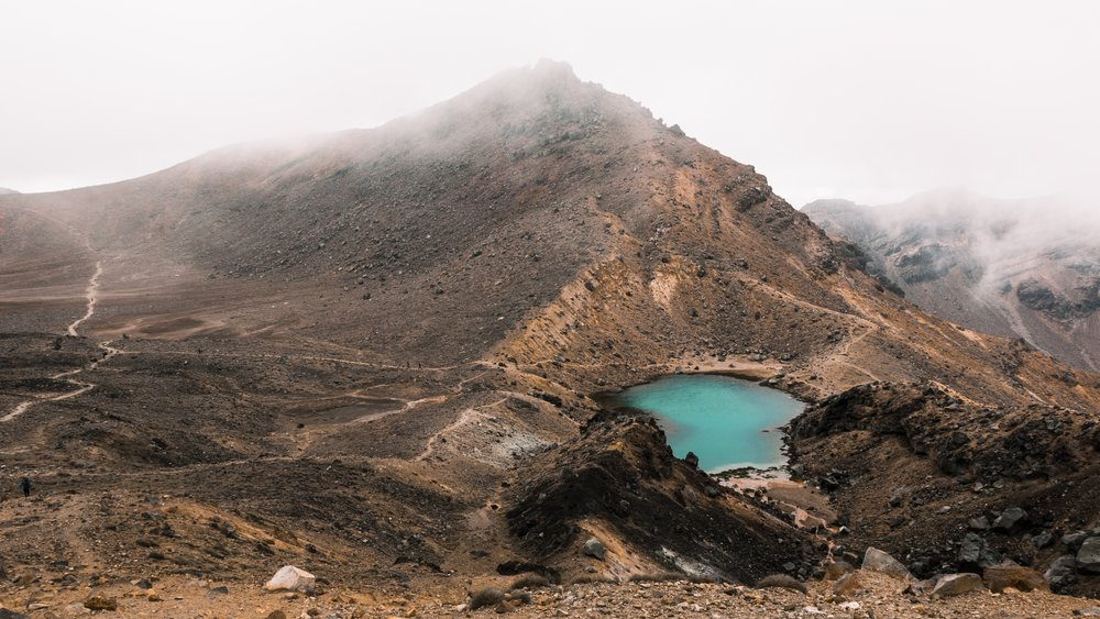 Walk the Tongariro Crossing