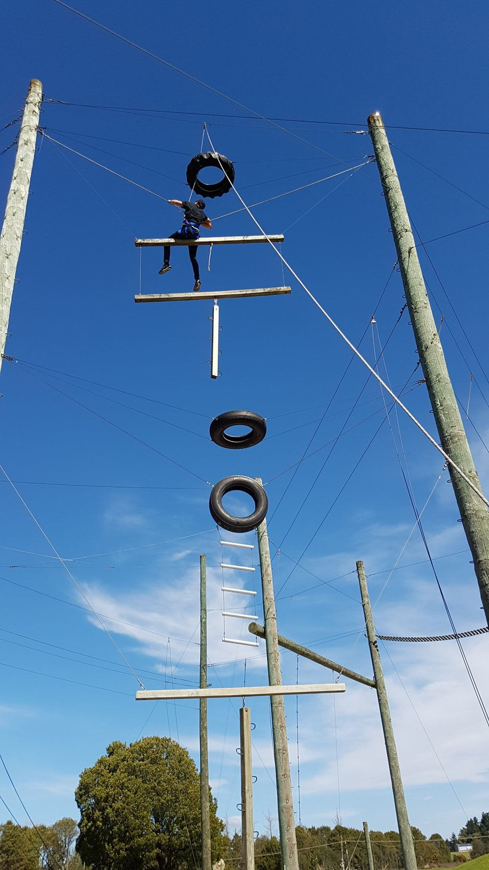 Challenge yourself at Rock 'n Ropes