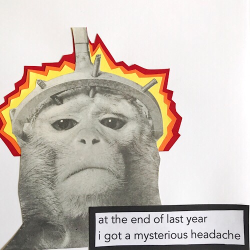 HEADACHE - frame from graphic blog