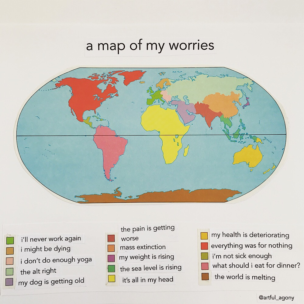 WORRY MAP